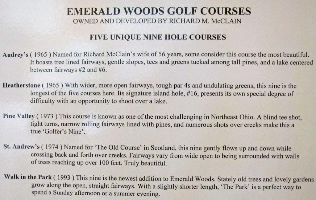 Emerald Woods GC