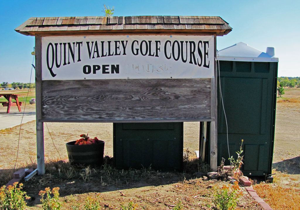 Quint Valley entrance