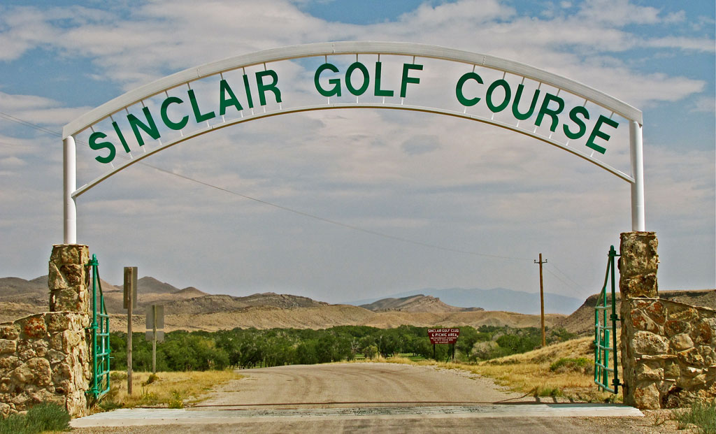 Sinclair GC Entrance