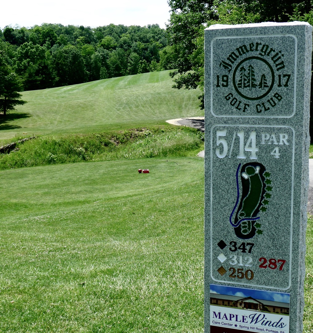 immergrun golf club loretto pa always time for 9